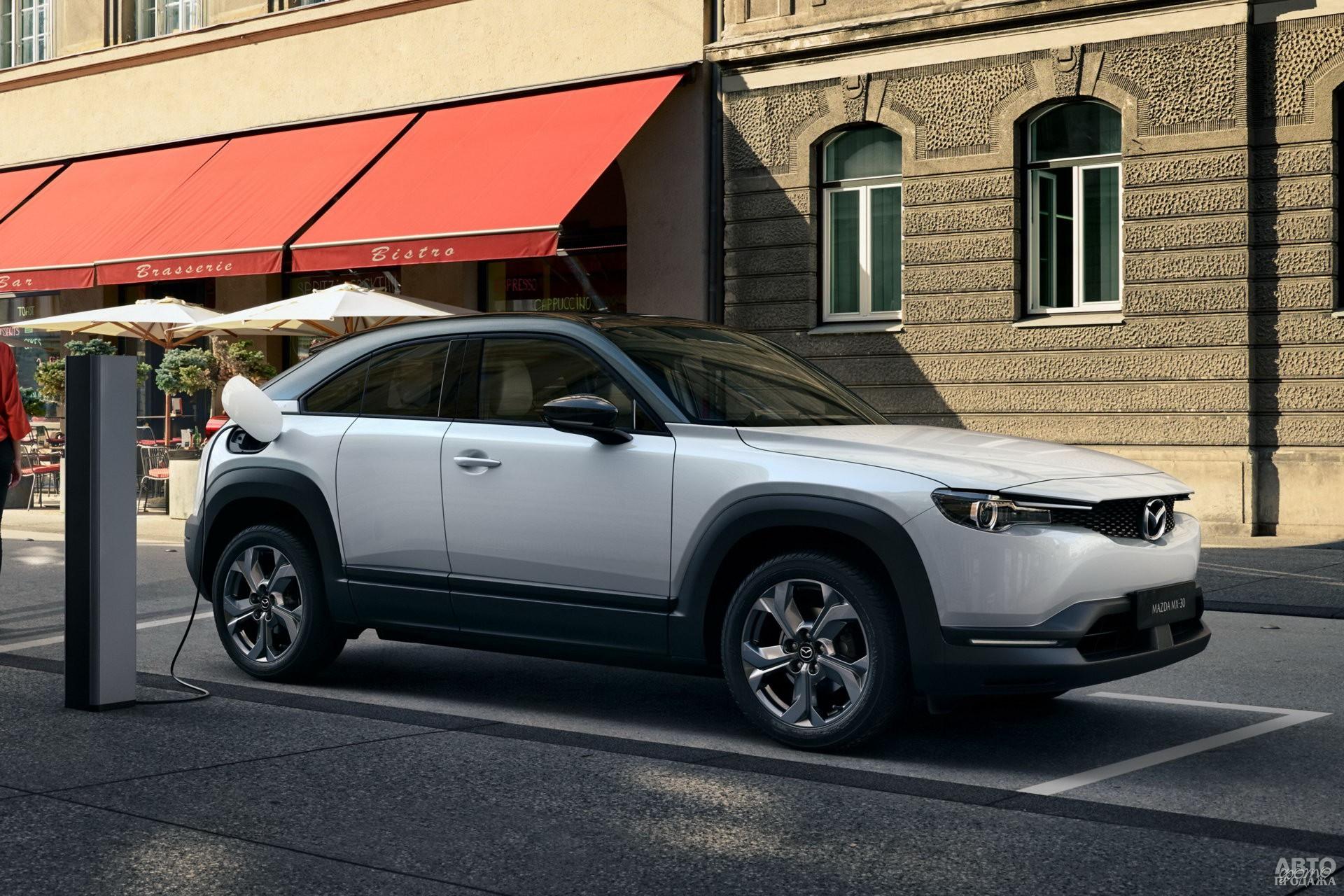 Электромобиль Mazda MX-30 получит версию с роторно-поршневым мотор-генератором