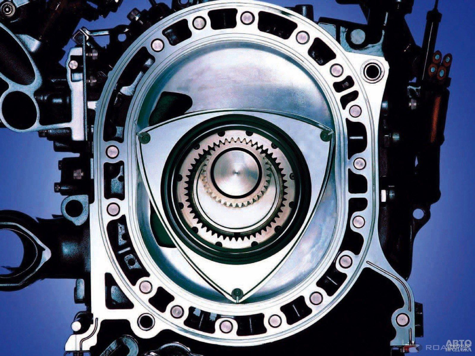 Роторно-поршневый двигатель Ванкеля