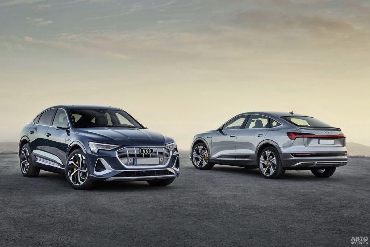 Audi e-tron Sportback: стильный электромобиль