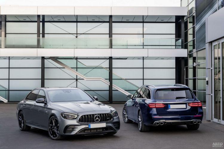 Mercedes-AMG E53: модернизация