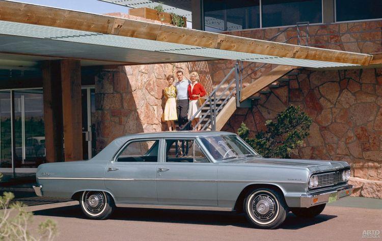 Chevrolet Malibu: американский средний класс