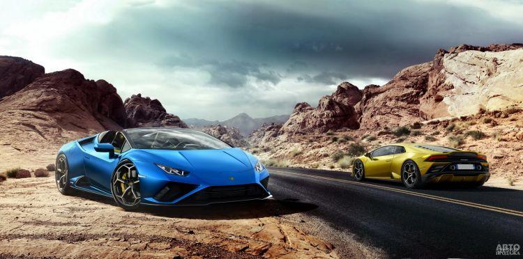 Lamborghini Huracan Evo RWD Spyder: обновление с прибавкой в мощности
