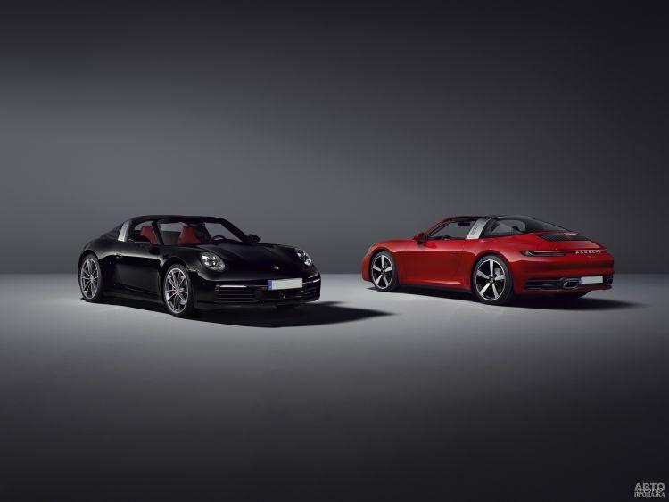 Porsche 911 Targa: пополнение в линейке