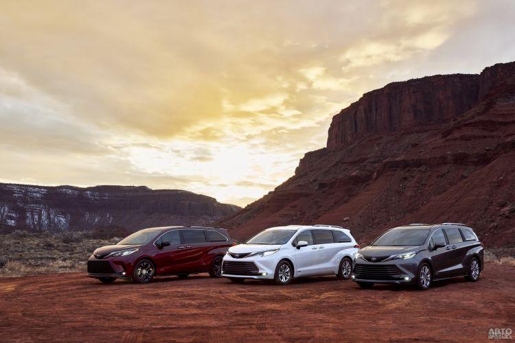 Toyota Sienna: для большой семьи