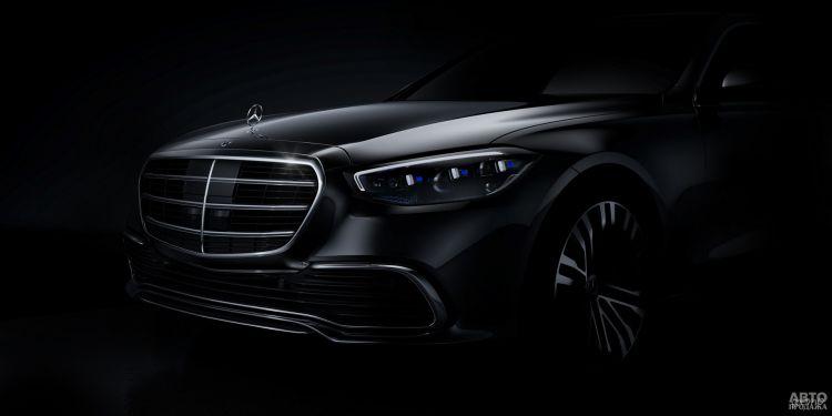 Первое официальное фото Mercedes-Benz S-Class