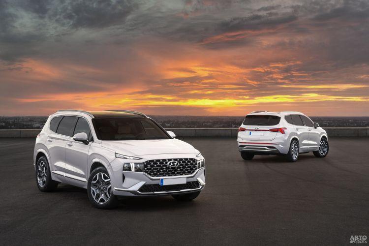 Hyundai Santa Fe: быстрая смена поколений