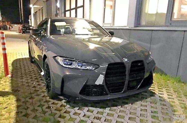 Первые фото нового BMW M4