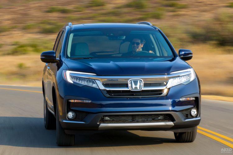 Honda Pilot, Toyota Highlander и Volvo XC90: семейный формат