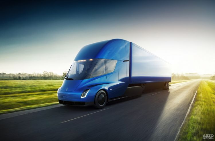 Электрический грузовик Tesla поступит в производство с 2021 года