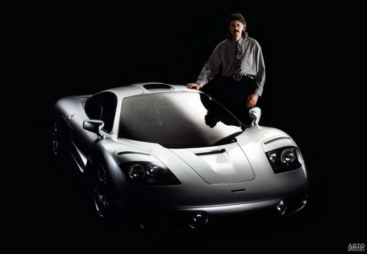 McLaren F1: шедевр техники