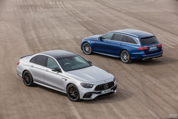 Заряженный Mercedes-AMG E63 обновлен