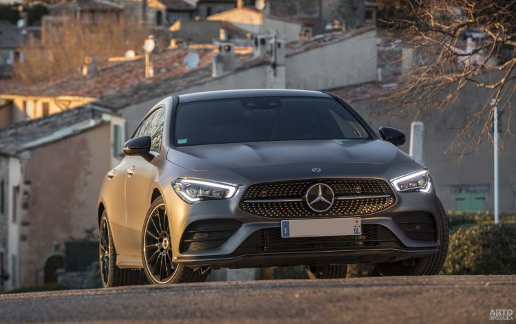 Mercedes-Benz CLA Shooting Brake: элегантный и практичный