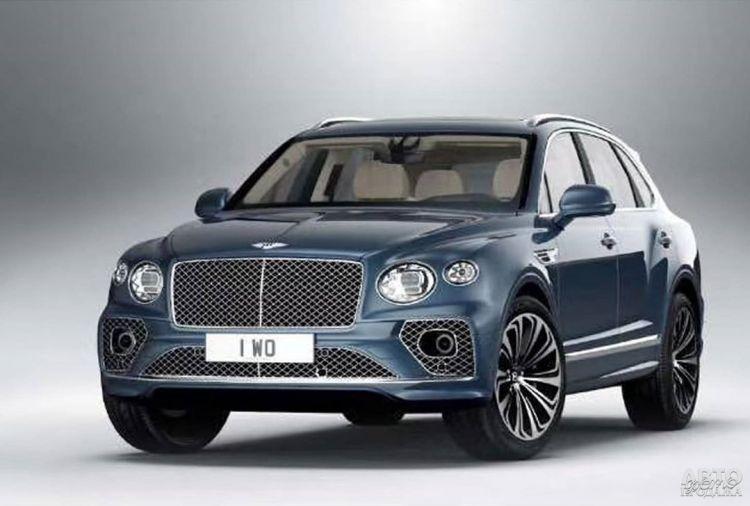 Bentley Bentayga пройдет обновление