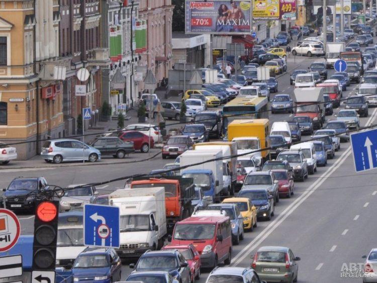 Киевские пробки – одни из самых больших в мире