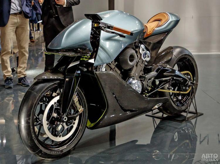 Aston Martin запускает в производство мотоцикл