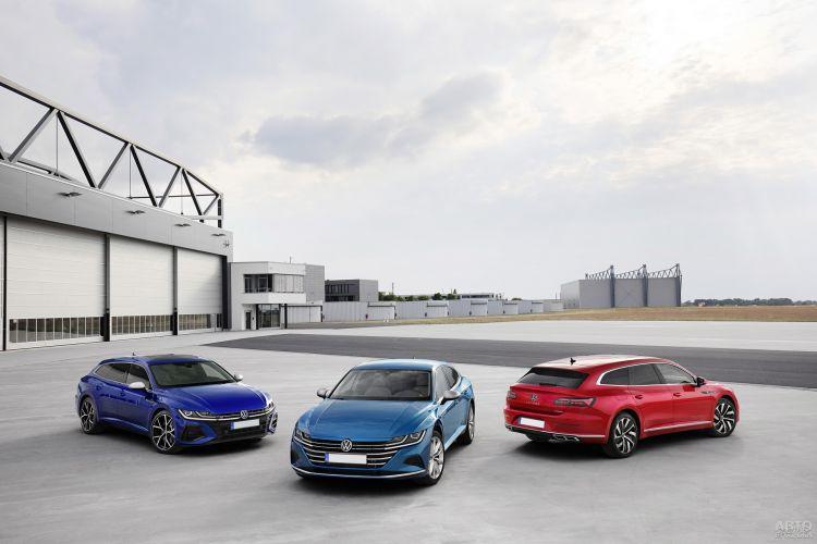 Volkswagen Arteon Shooting Brake: стильный универсал