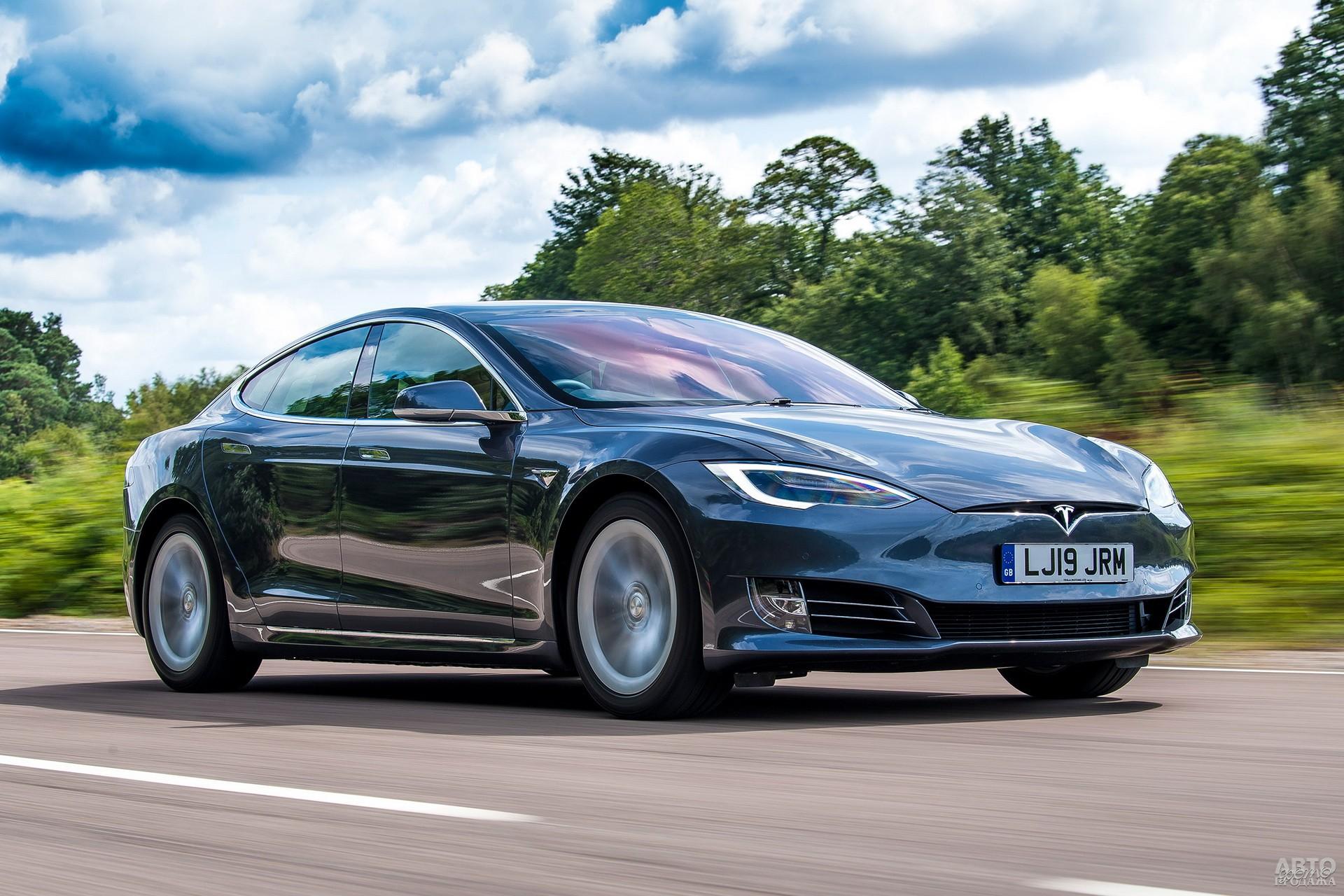 Tesla Model S обладает рекордным среди серийных электромобилей запасом хода – 645 км