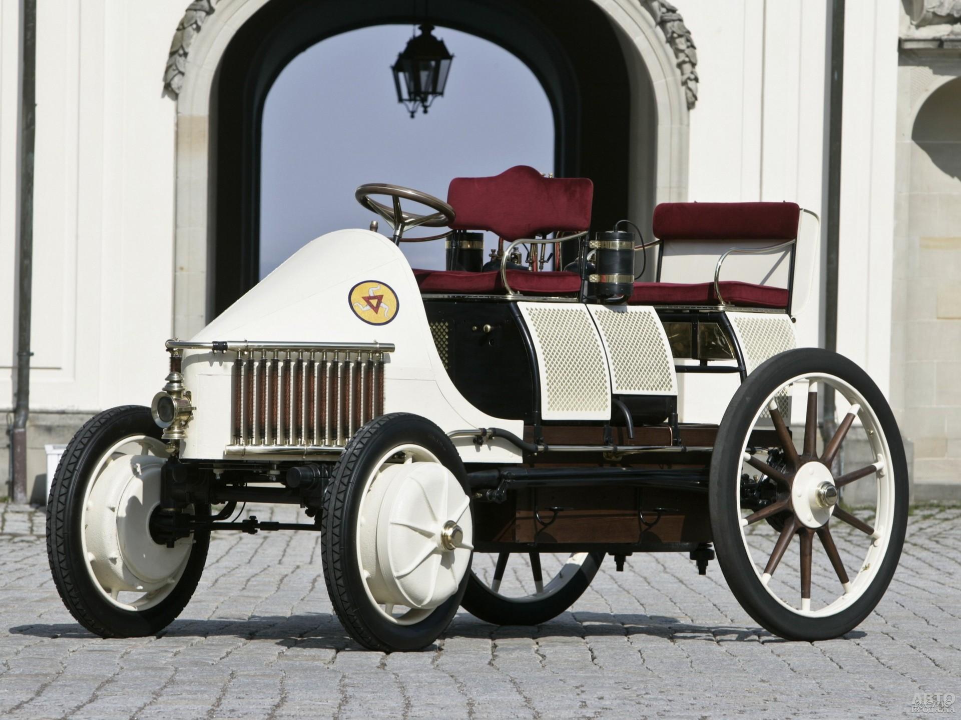 Lohner-Porsche Semper Vivus – первый в мире гибрид