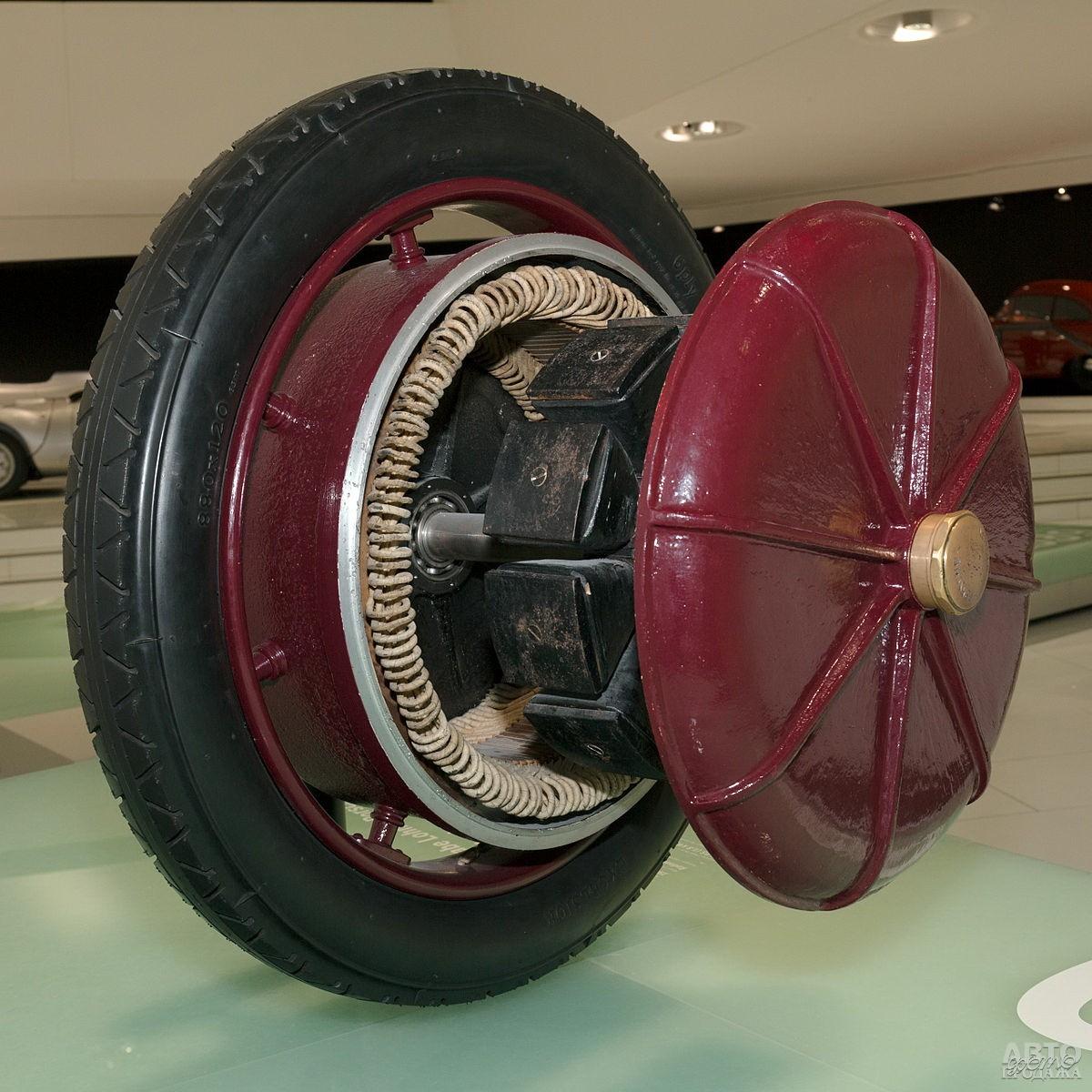 Мотор-колесо – изобретение Фердинанда Порше