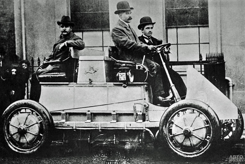 Полноприводной Lohner-Porsche 1901 года