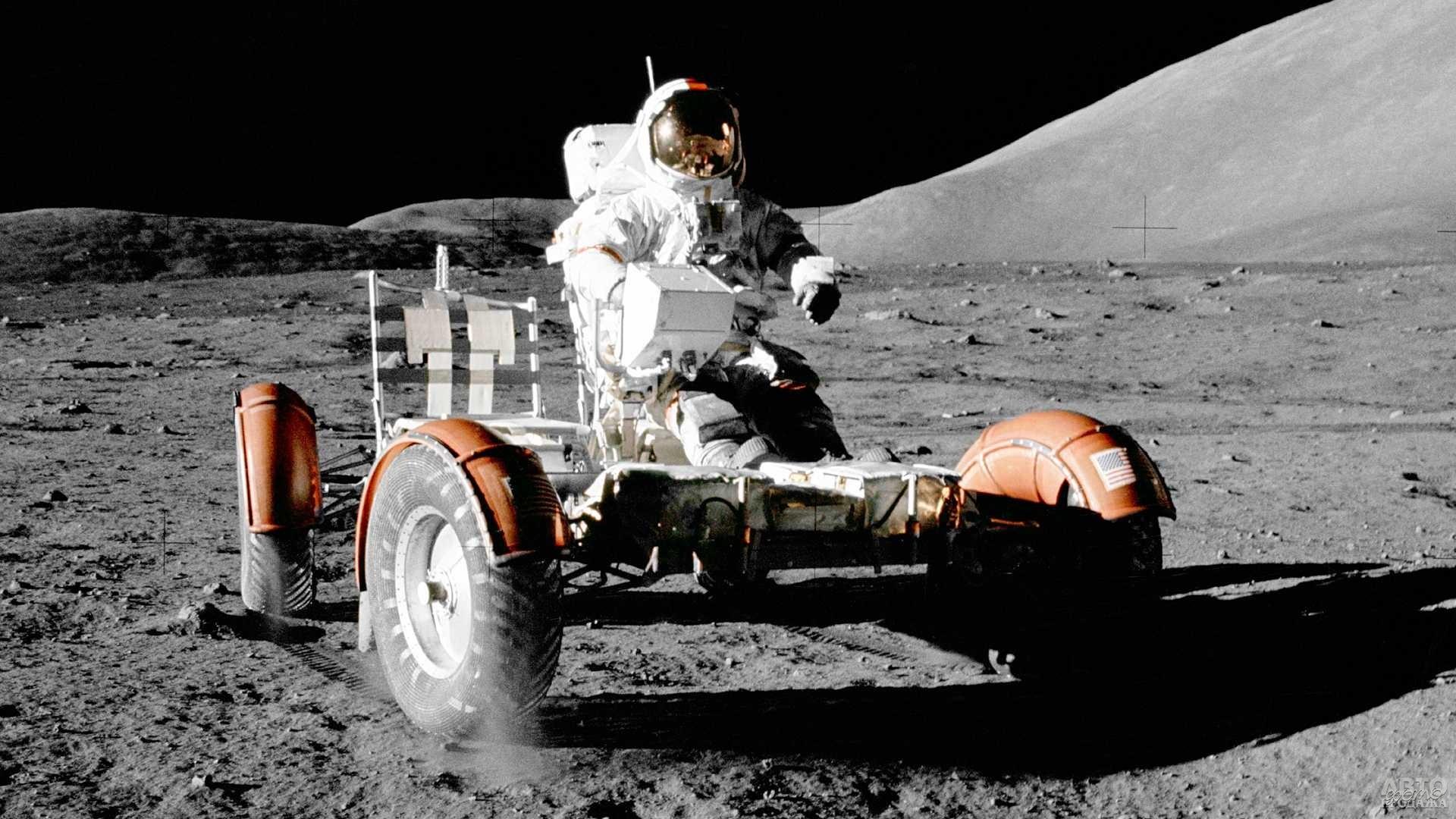 Lunar Rover – электромобиль для астронавтов