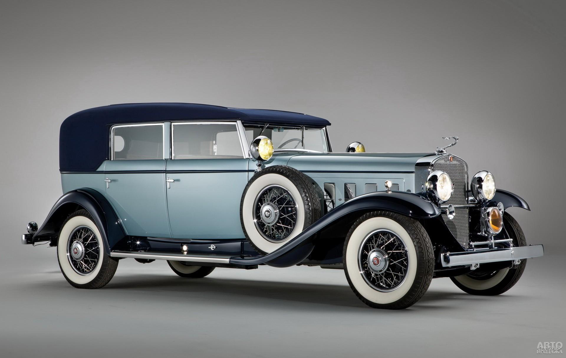 Cadillac V16 Convertible Sedan 1930 года