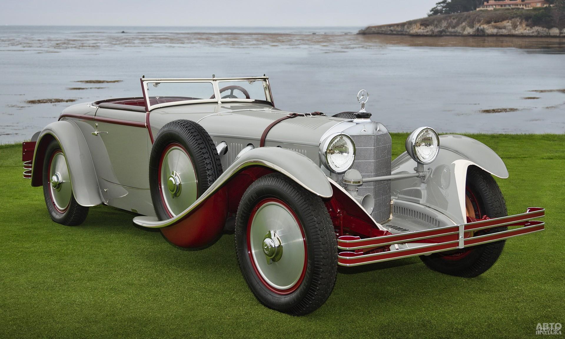 Mercedes-Benz 680S Torpedo Roadster, 1928 год