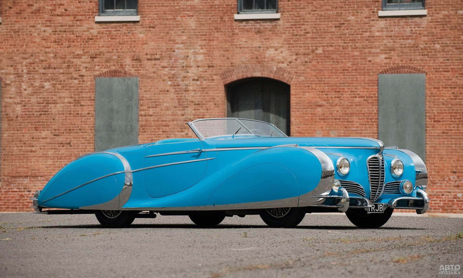 Delahaye 175S Roadster 1949 года