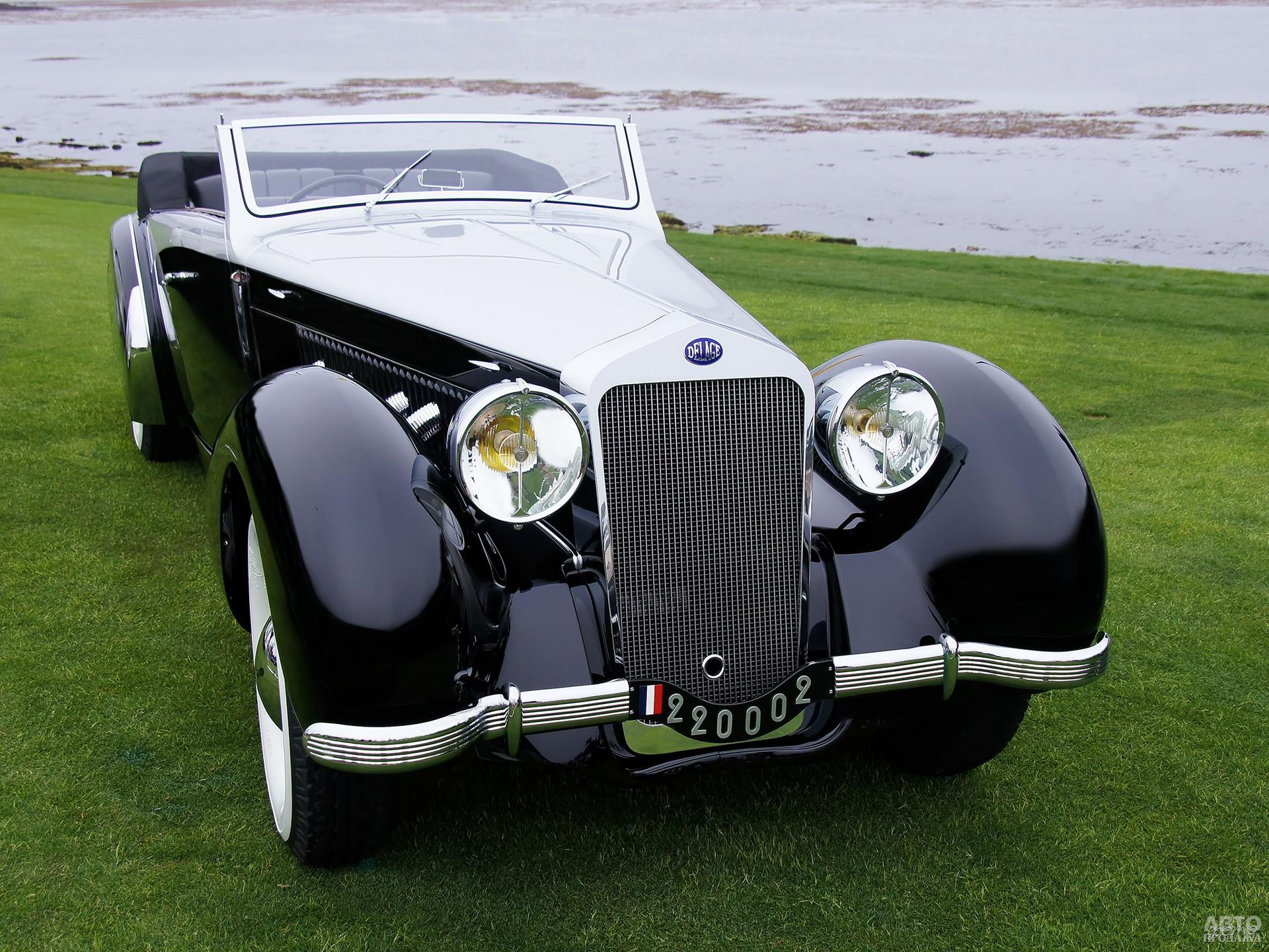 Delage D8-120 Cabriolet 1938 года