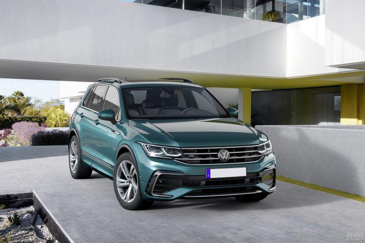 Volkswagen Tiguan: обновление с прибавкой в мощности