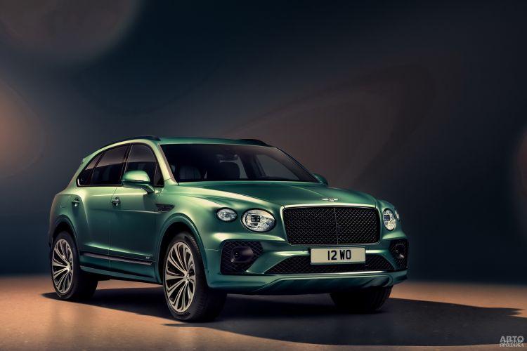 Bentley Bentayga: обновление роскошного вседорожника