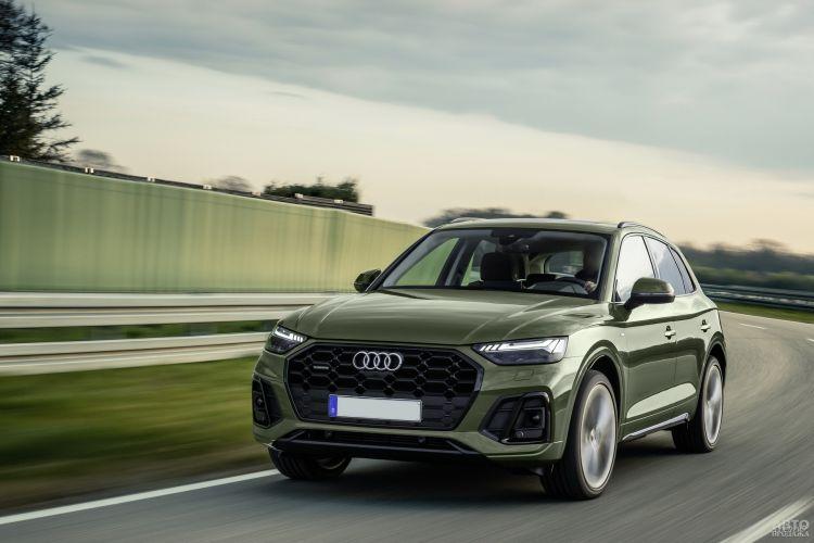 Audi Q5: модернизация