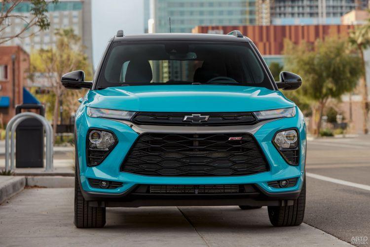 Chevrolet TrailBlazer: смена образа