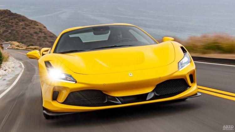 Ferrari F8 Spider: свежий дизайн и прибавка в мощности