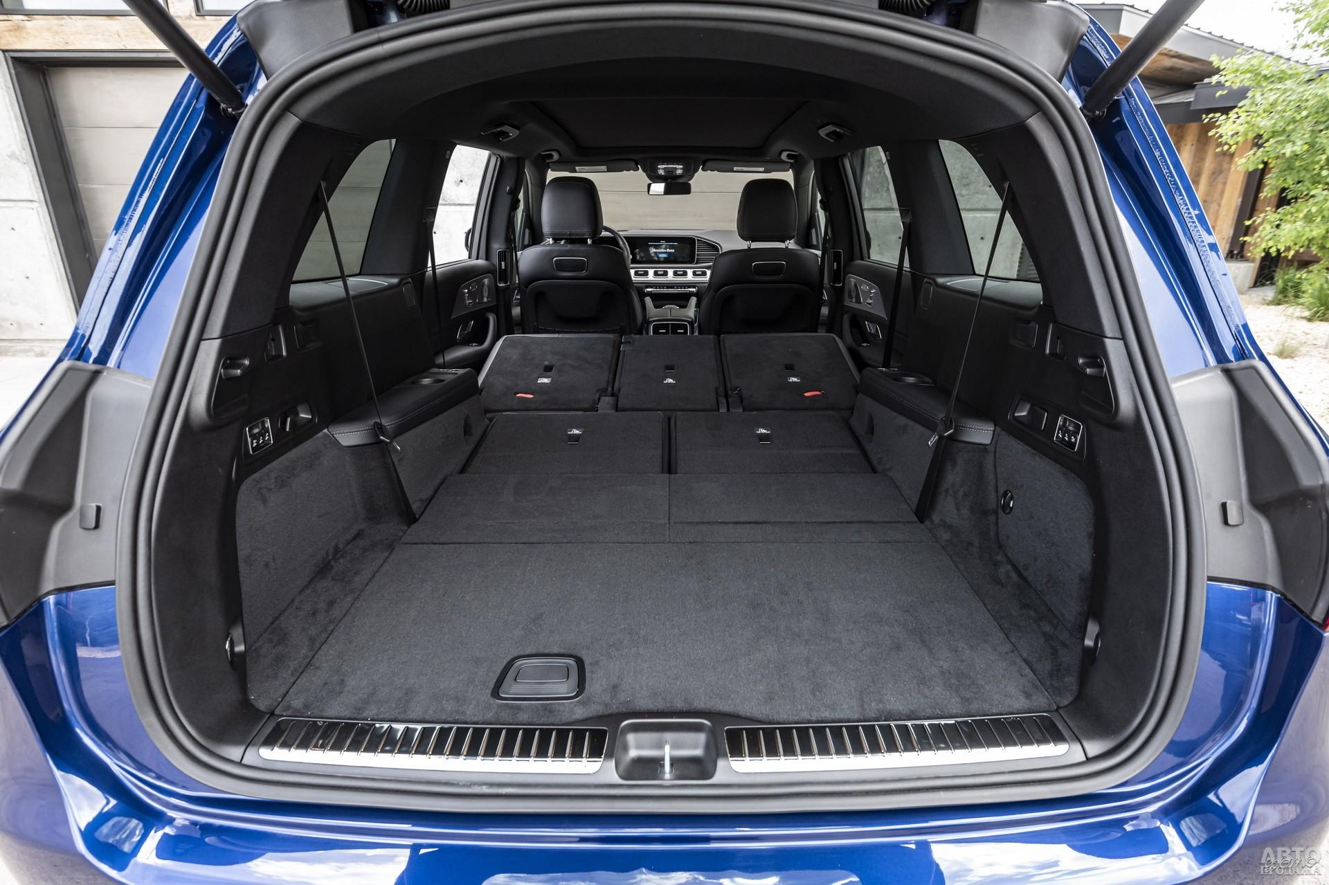Багажник Мercedes-Benz самый большой – 355-2400 л
