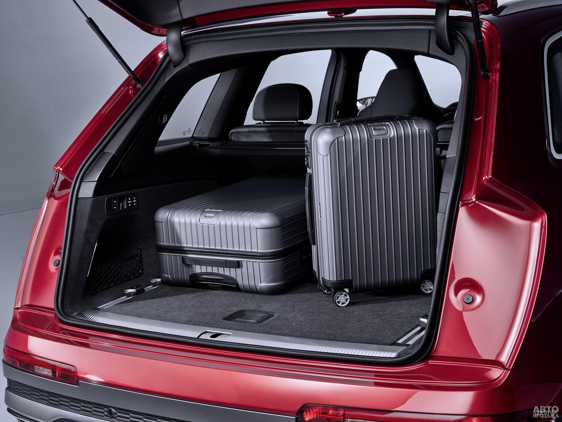 Объем багажника Аudi – от 295 до 2075 л