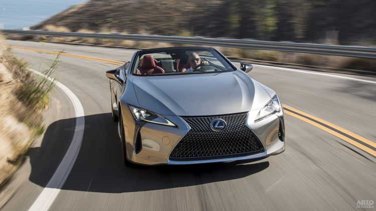 Lexus LC Convertible: стиль и комфорт