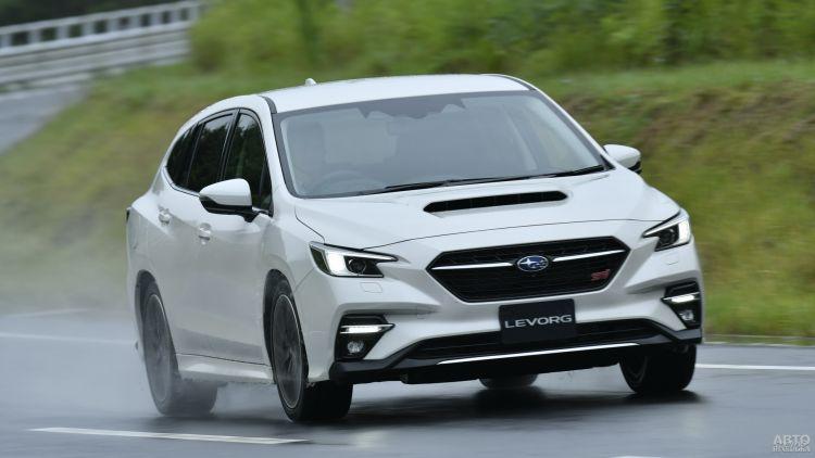 Subaru Levorg: практичный собрат Impreza