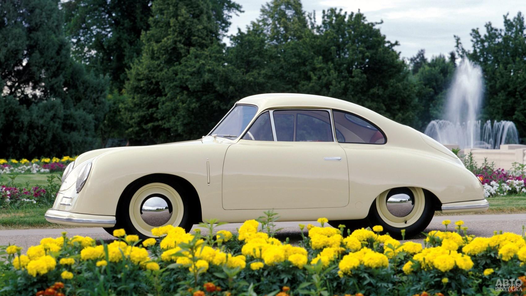Серийное купе Pоrsche 356 австрийской сборки