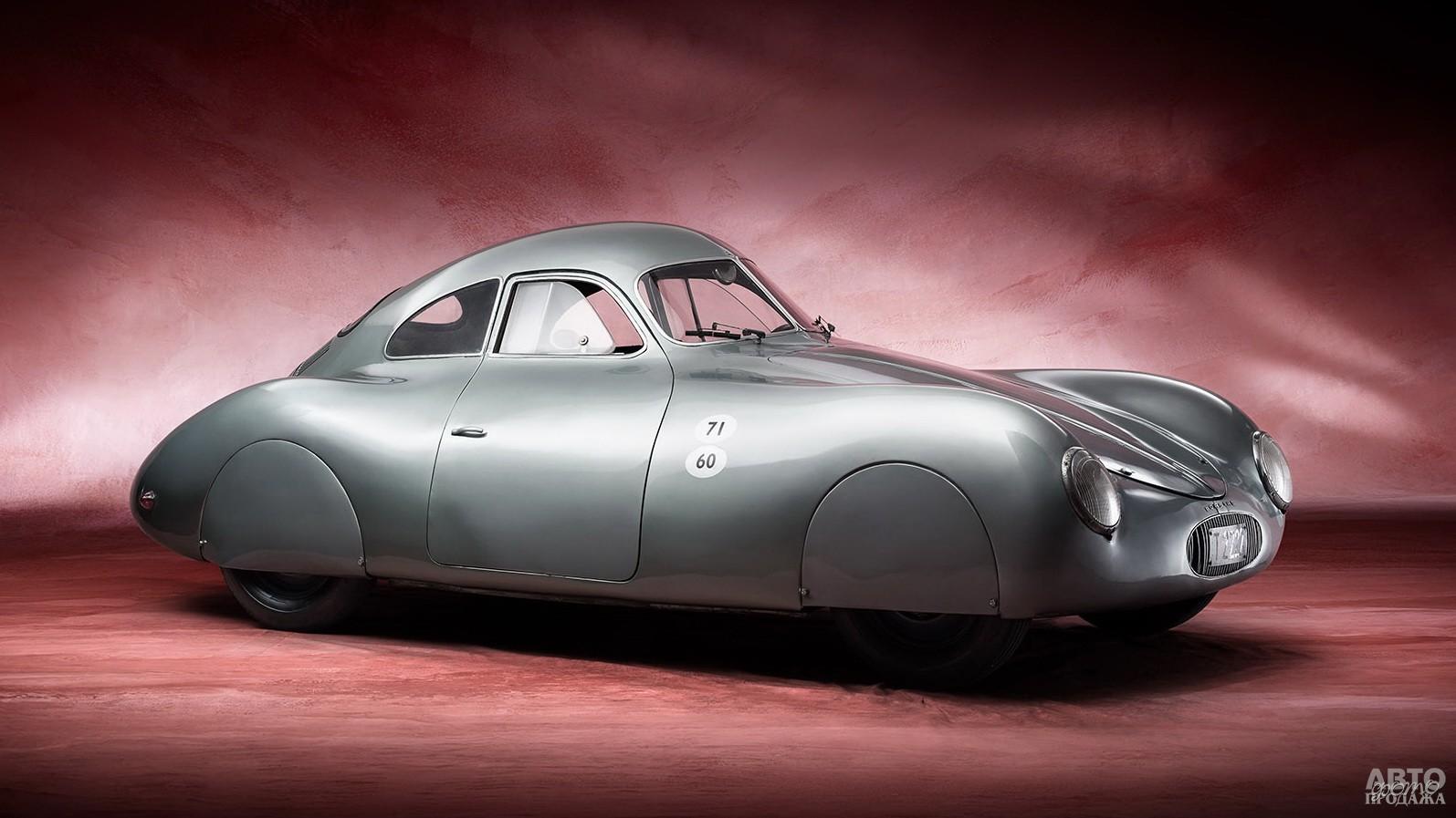 Прототип Тур 64 1940 года – предшественник Pоrsche 356