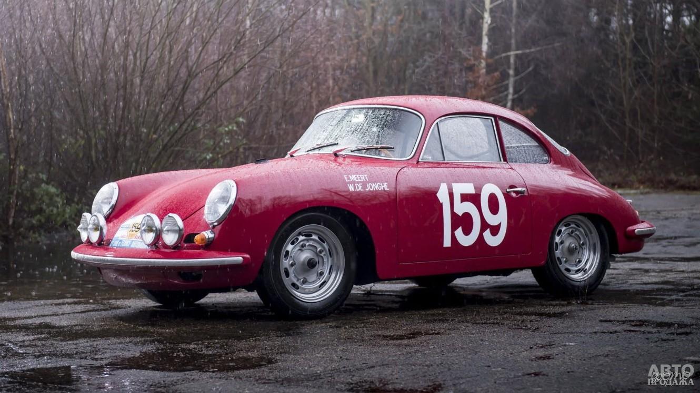 Гоночный Pоrsche 356B Carrera 2 GT разгонялся до 240 км/ч