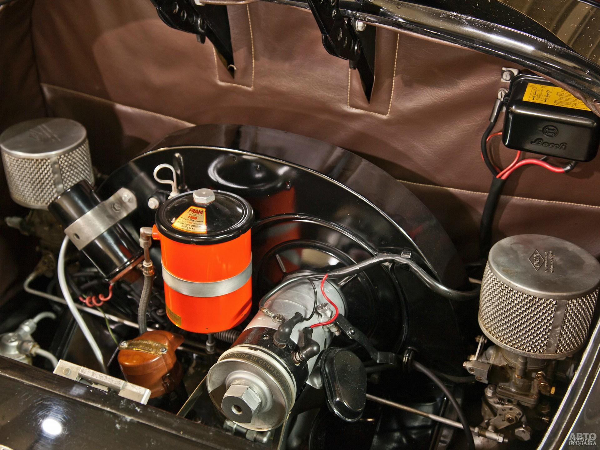 Двигатель позаимствован у Volkswagen Beetle