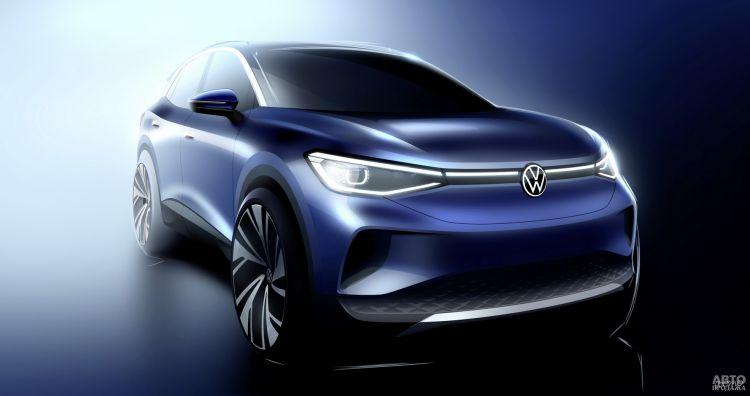 Volkswagen рассекретил свой первый электрический вседорожник