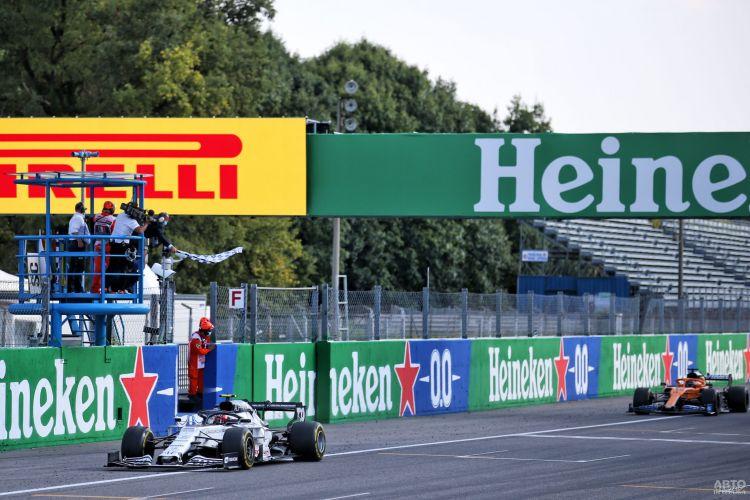 Формула-1: Гасли сенсационно триумфует в Италии