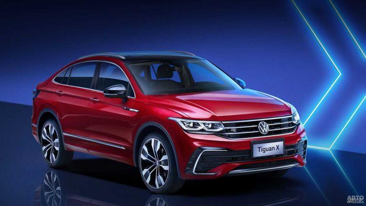 Volkswagen Tiguan получил купеобразную модификацию