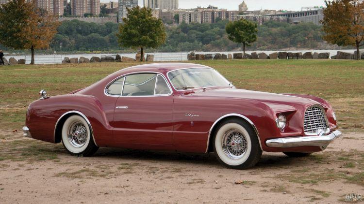 Концепт-кар Chrysler d'Elegance 1953 года – прообраз Vоlkswagen Karmann-Ghia