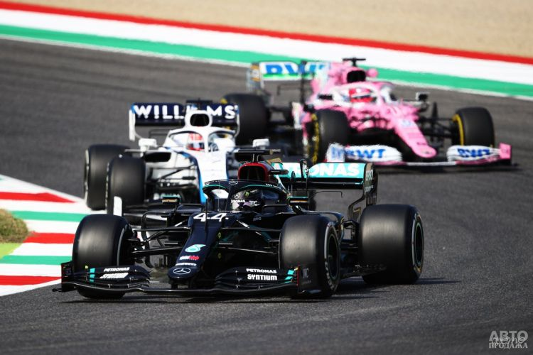 Формула-1: Хэмилтон выиграл Гран-при Тосканы