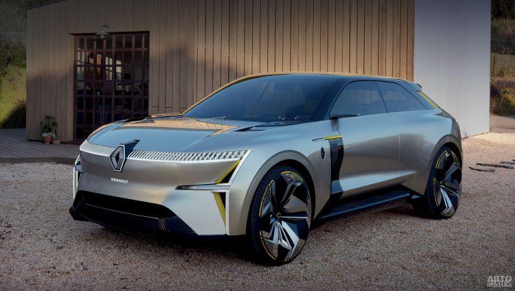 Renault представит два новых электромобиля