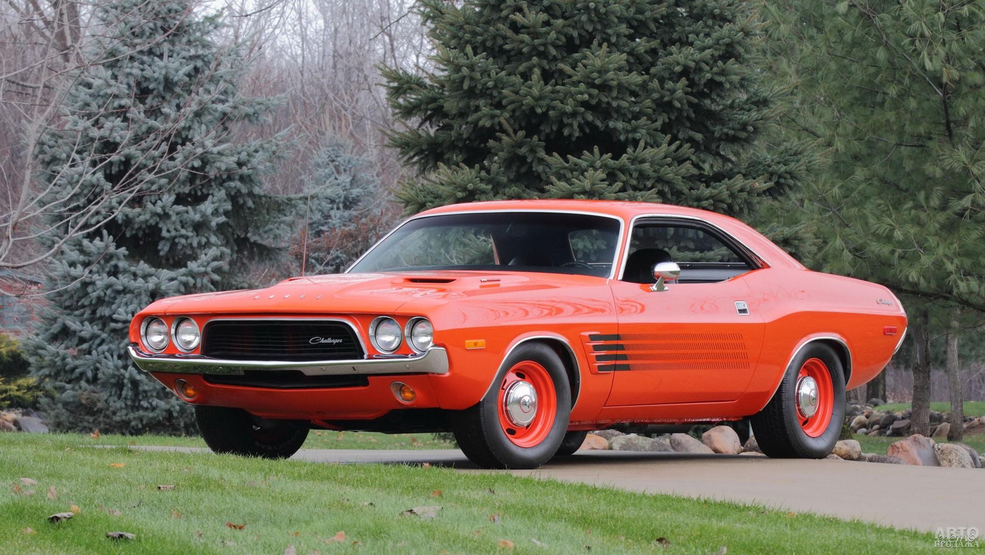 Dоdge Challenger 1972 года