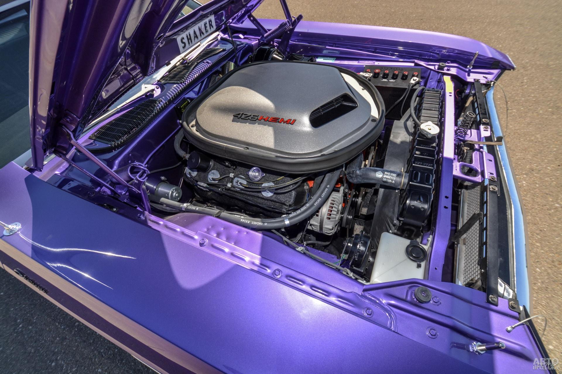 7,0-литровый V8 Hemi мощностью 425 л. с.